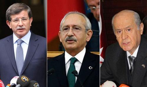 Üç parti lideri de HDP'ye sert çıktı: İhanet