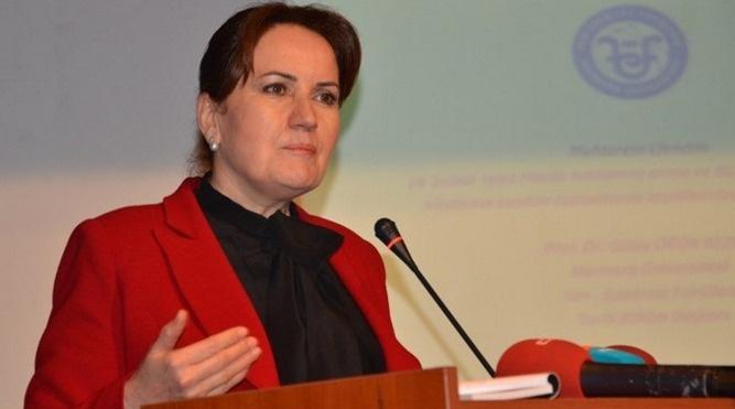Meral Akşener'den 'erken seçim' iddiası
