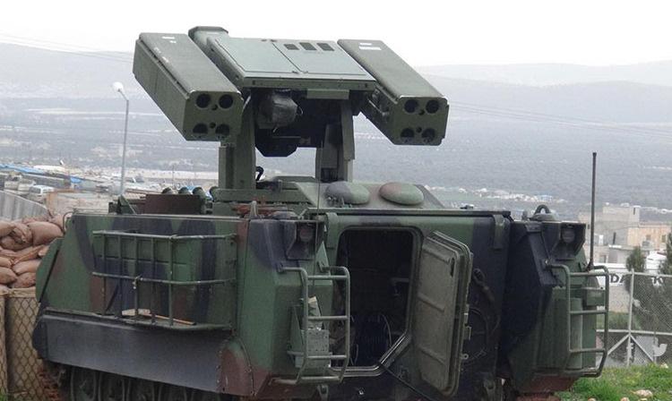 YPG'yi vuran Stinger füzeleri | FOTO