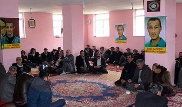 Taziye baskınında gözaltına alınan 13 kişi serbest