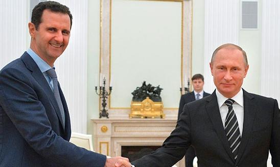 Putin Esed'le telefonda görüştü