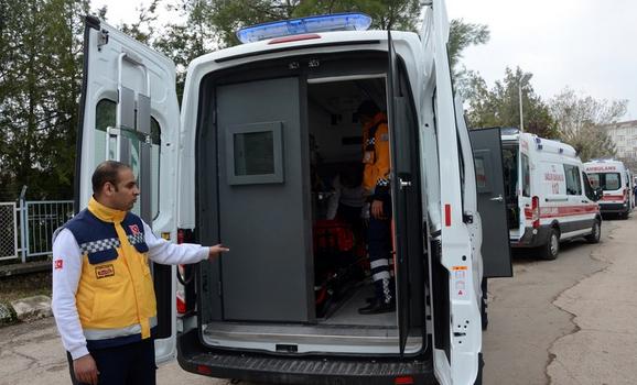 Teröre karşı zırhlı ambulans