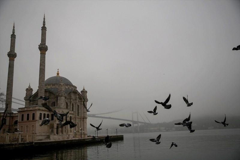 İstanbul sis altında | FOTO