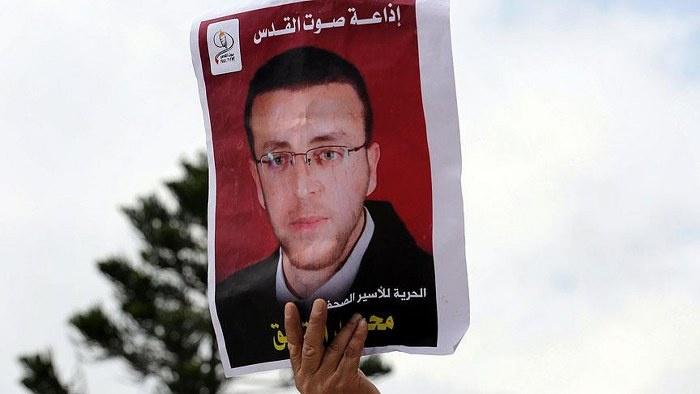 Filistinli gazetecinin açlık grevi zaferi