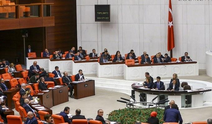 Meclis'ten dört partiye 'anayasa' mektubu