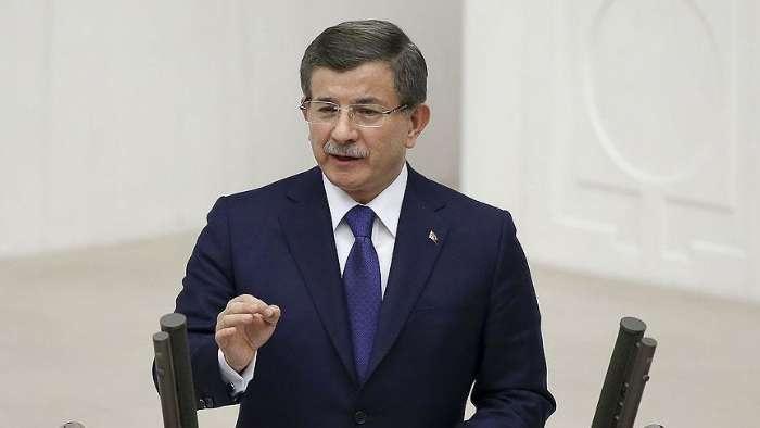Davutoğlu: Efsanevi bir liderden görevi devraldım