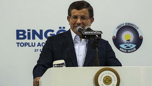 Başbakan Davutoğlu, Bingöl'de