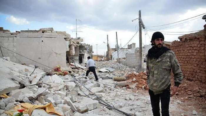 Rusya durdu, Esad saldırmaya devam ediyor