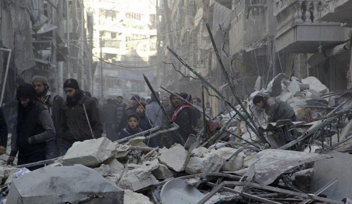 Rusya ve Şam ateşkes dinlemiyor