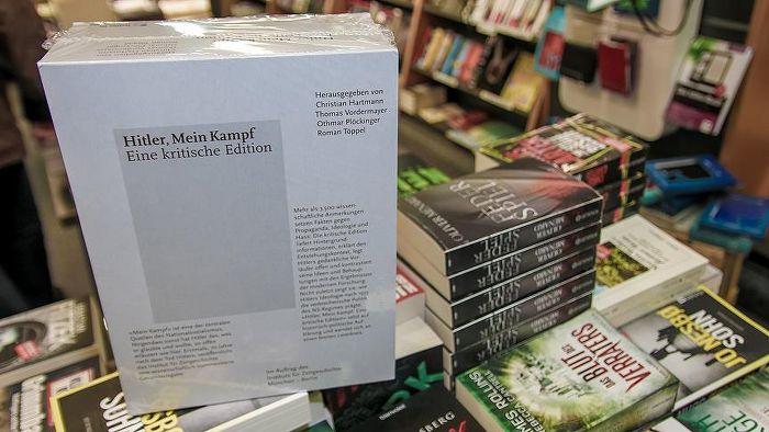 Hitler'in kitabı Kavgam Almanya'da çok satanlar listesinde