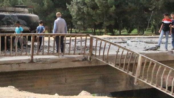 PKK Nusaybin'de köprüye saldırdı