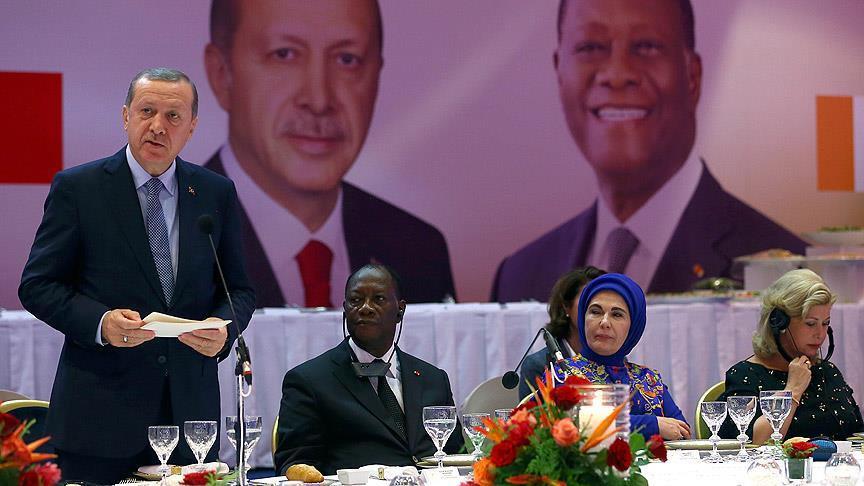 Fildişi Sahili'nde ilk Türk Cumhurbaşkanı