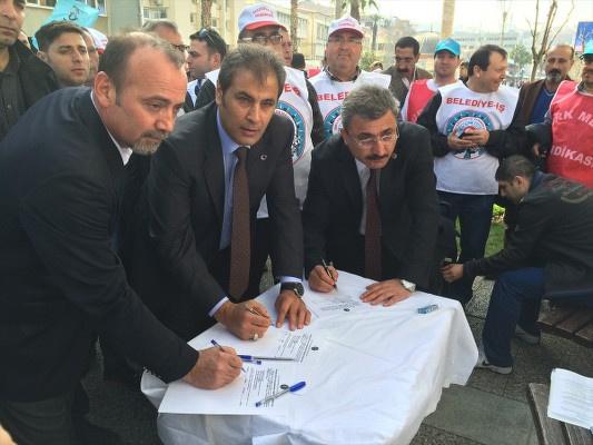 Türk-İş esnek çalışmaya karşı imza topluyor