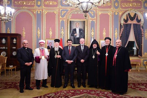 Dini liderler İstanbul Valiliği'nde buluştu