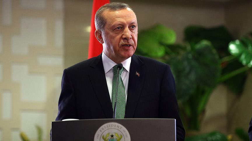 Erdoğan, Gana milletvekillerine seslendi