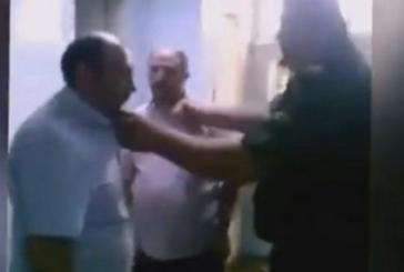 Şebbiha'nın işkencelerinden biri | VIDEO