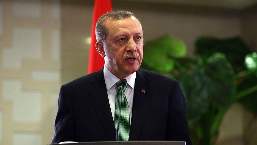 Erdoğan: Kırım'ın gayrimeşru ilhakını tanımıyoruz