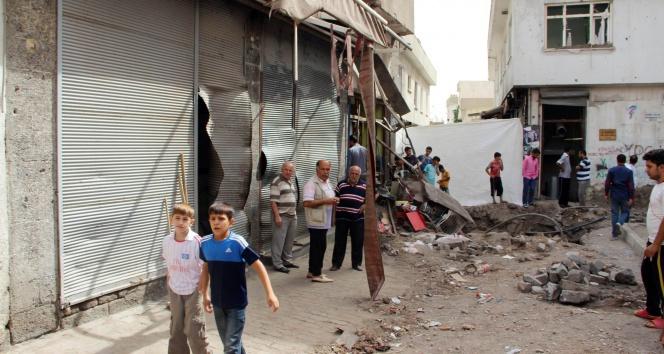 Bina çöktü, 20 PKK'lı öldü