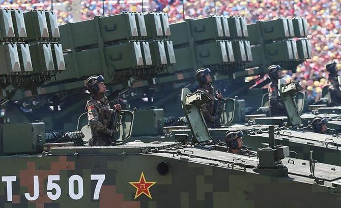 Çin'den savunma bütçesine arttırım
