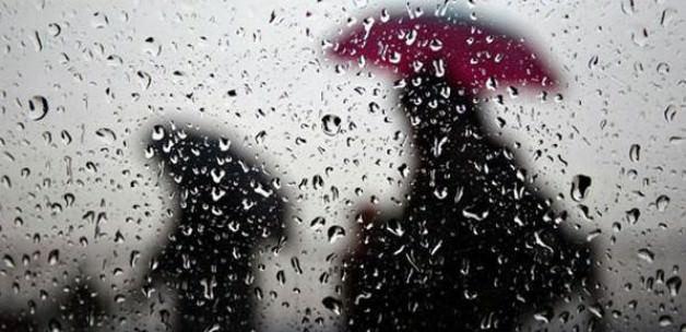 Beş ile yağmur ve fırtına uyarısı