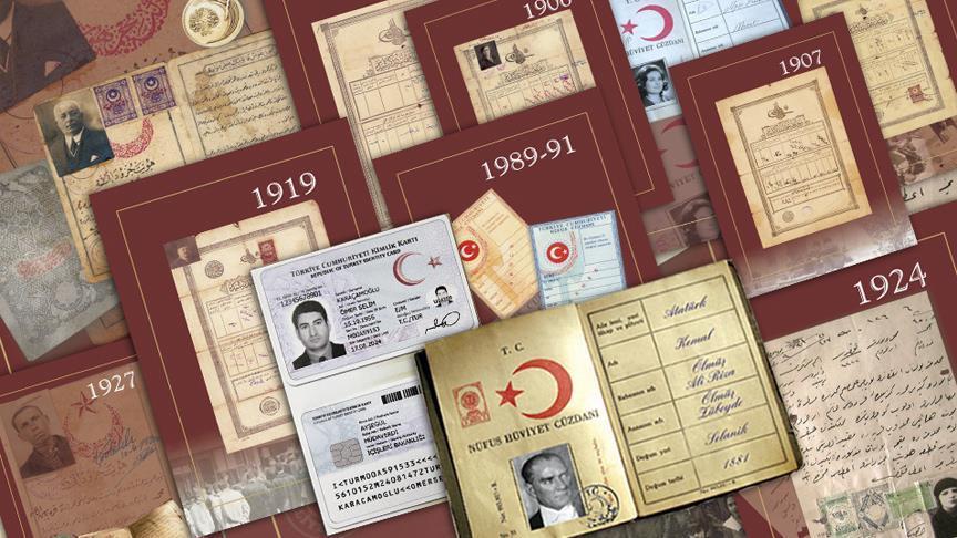 Osmanlı'dan günümüze kimlik kartları