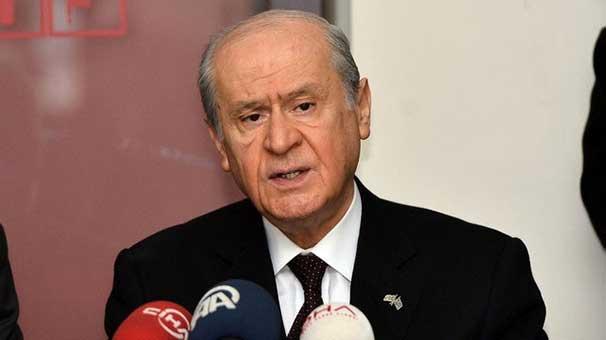 Bahçeli: MHP'yi teslim edemeyiz