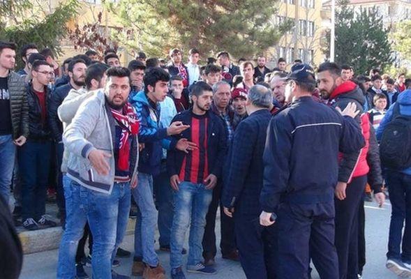 Çorum-Van maçında futbolcu provokasyonu