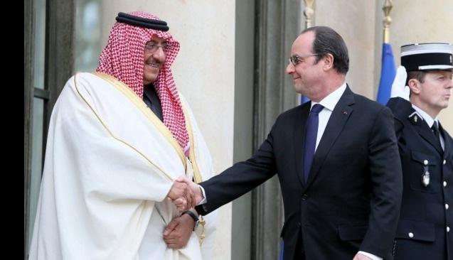 Fransa'dan Suud prensine 'onur nişanı'