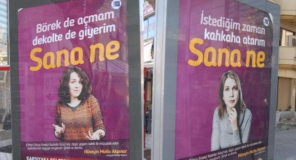Erdoğan o afişlere sert tepki gösterdi