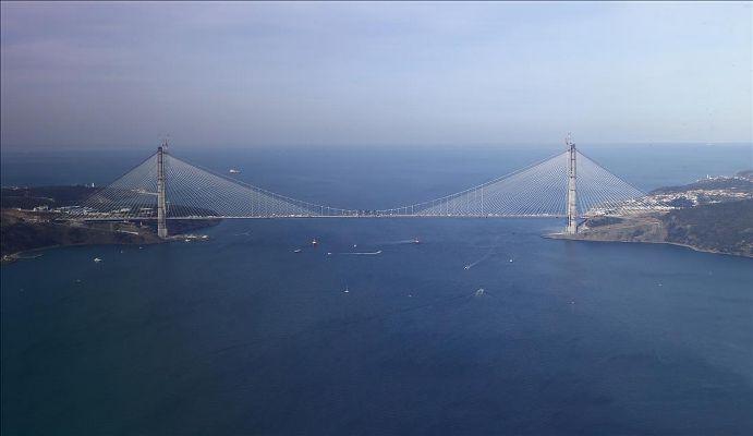 Üçüncü Köprü'de ücret minimum 3 dolar olacak
