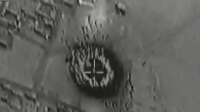 IŞİD'in kimyasal tesisi vuruldu iddiası