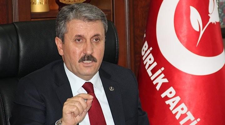 Destici: Önce PYD sonra PKK'nın kökü kazınmalı