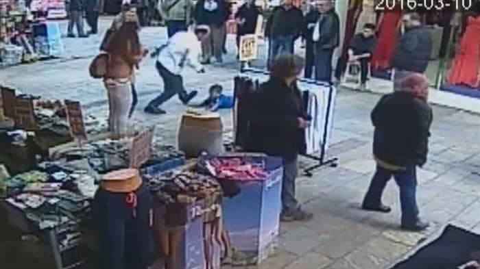 İzmir'de çocuğu darbeden esnaf serbest