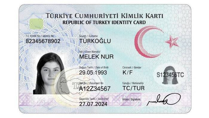 Yeni kimlik dağıtımı Kırıkkale'den başlıyor