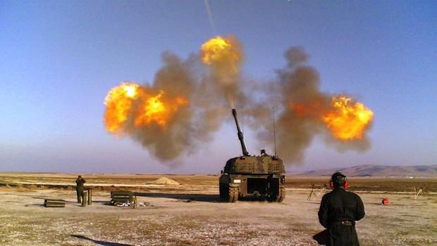 IŞİD havadan ve karadan vuruluyor