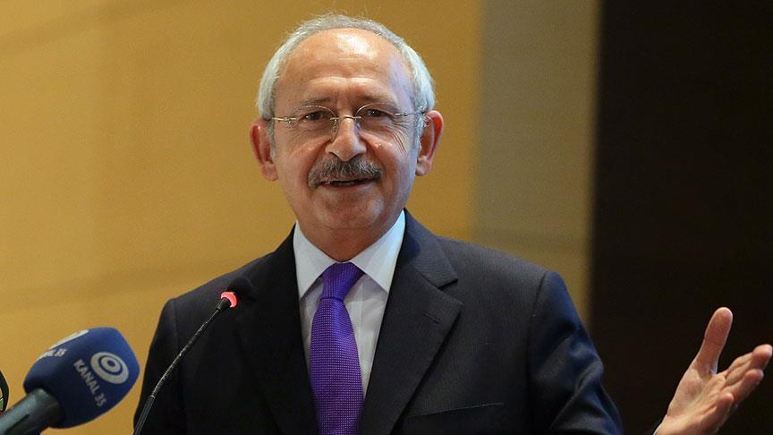 Kılıçdaroğlu: Türkiye üzerine düşeni yapmıştır
