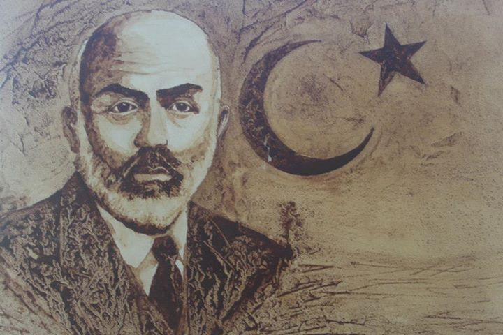 İstiklal Marşı Şairi Mehmet Akif Ersoy anılıyor