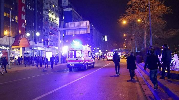 Ankara'da terör saldırısı: 37 ölü, 125 yaralı