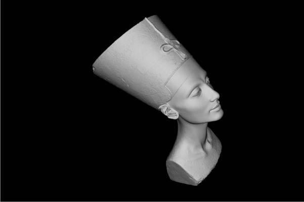 Nefertiti büstüne ait 3D görüntüler sızdı