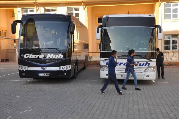 Şırnak'ta YGS yapılamadı, öğrenciler taşındı