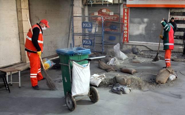 Sur'da temizlik zamanı | FOTO