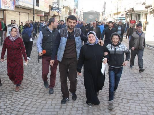 Sur'da sokağa çıkma yasağı kısmen kaldırıldı