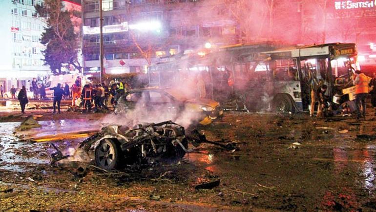 Bombalı araç 15 gün boyunca Ankara'daydı