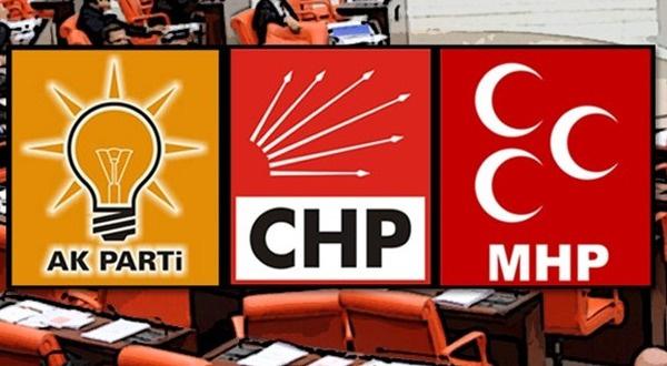 AK Parti, CHP ve MHP'den 'terör' bildirisi