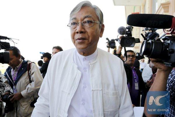 Myanmar'da 50 yıl sonra ilk sivil başkan