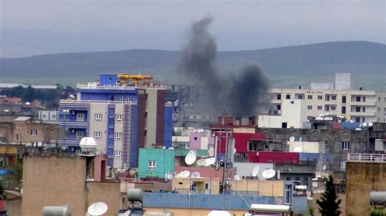 Nusaybin'deki çatışmalarda bir polis şehit