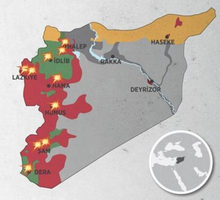 Suriye'nin kuzeyinde federasyon ilan ediliyor