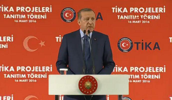 Erdoğan: Gönül birliğimiz parçalanmayacak