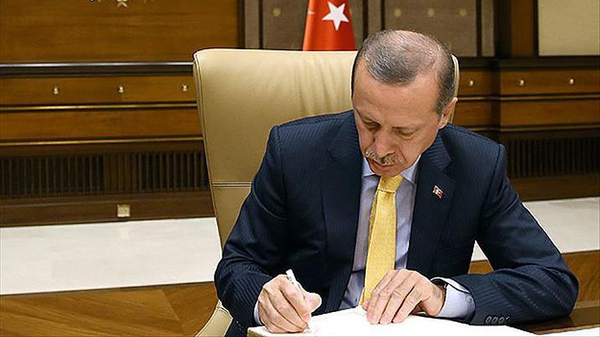 Erdoğan bütçe kanununu onayladı