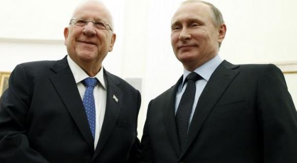 Putin, İsrail cumhurbaşkanını ağırladı